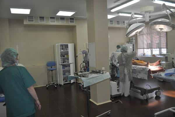 Гибридная операционная для лечения гангрены